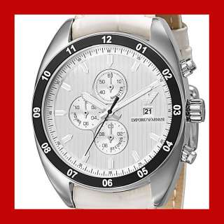 Emporio Armani Men 42mm Chronograph Watch AR5915 $325 Sale