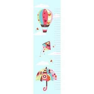 In the Sky Growth Chart Wall Decal