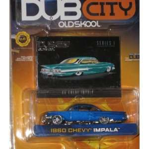 Jada Dub City 164 1960 Chevy Impala BLUE Toys & Games