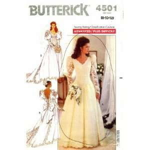 Brides Bridal Wedding Dress Gown Size 8   12 Arts, Crafts & Sewing