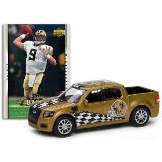 Deck Ford Svt Adrenalin Concept Diecast   Saints With Drew Brees Card
