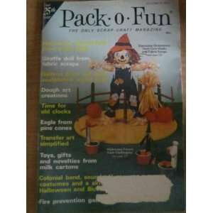 Pack o Fun Scrap Craft Magazine October 1975 Everything