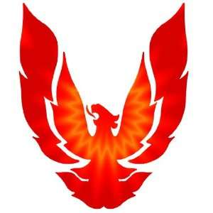 Full Color Custom Phoenix Hood Decal Graphics Sticker Automotive