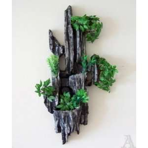 Lighted Rock Wall Stone Water Fountain Indoor Outdoor