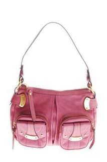 Makowsky NEW MANILA Leather Satchel Medium Handbag Pink Bag