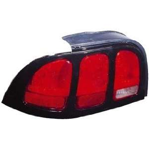 QP F6505 a Ford Mustang Passenger Tail Light Lens