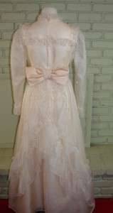 Emma Domb Wedding Debutante Dress Steampunk S Bust Vintage 70s
