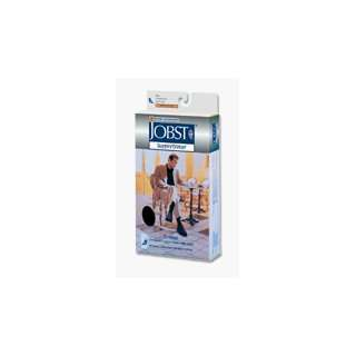 Jobst Mens Dress Socks,KneeHigh 8 15mmHg,White,Med 1Pc