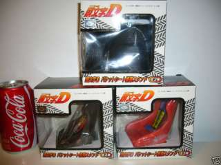 INITIAL D CELL PHONE STAND F1 RACE CAR TIRE SEAT BELT SET JAPAN ANIME