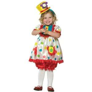 Lets Party By Rasta Imposta Clown Girl Toddler Costume