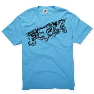 Fox Racing Inverse Electric Blue T Shirt  Sports