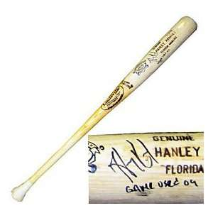 Hanley Ramirez Autographed / Signed 2009 Game Used