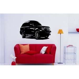 Wall MURAL Vinyl Sticker Car RANGE ROVER S. 801