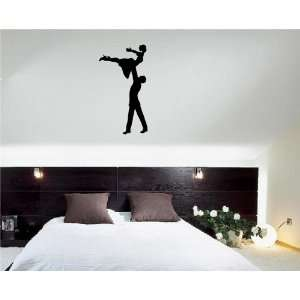 Dancing People Tango Ballet Wall Decor Vinyl Decal Sticker