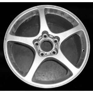 00 02 CHEVY CHEVROLET CORVETTE ALLOY WHEEL (PASSENGER SIDE)  (DRIVER