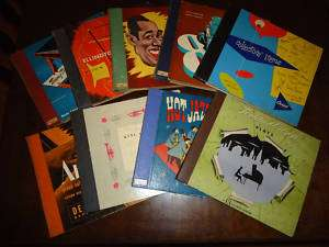 RARE 78 RPM RECORDS ALBUM COVERS   NO DISCS   PACK 1