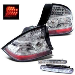 Eautolights 04 05 Honda Civic 2 Door LED Tail Lights + LED