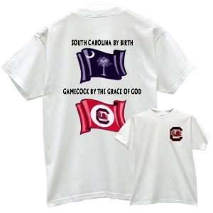 South Carolina Gamecocks GAMECOCK PRIDE White T shirt