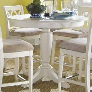 American Drew Camden Light Round Counter Height Ped Table