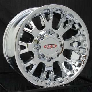 18 inch Chrome Wheels/Rims Chevy HD Dodge Ram H2 8 Lug