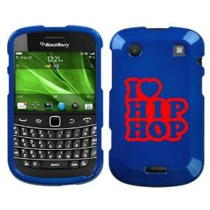 BOLD 9930 RED I LOVE HIP HOP ON BLUE HARD CASE COVER