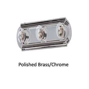 By Maxim Lighting Maxim Collection Polished Brass/Chrome Finish 6 Lt