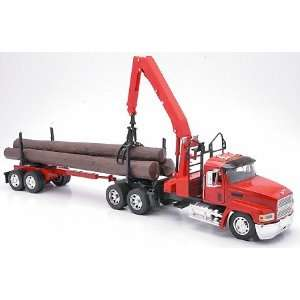 Kenworth Truck & Log Trailer Toys & Games