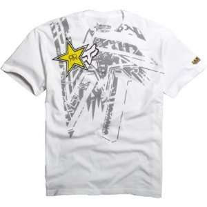 Fox Racing Rockstar Tonic s/s Tee White XXL Automotive