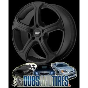 19 Inch 19x9 American Racing wheels wheels MC5 Satin Black