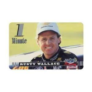 Card Assets Racing 1995 1 Minute Rusty Wallace (Miller Beer) SAMPLE