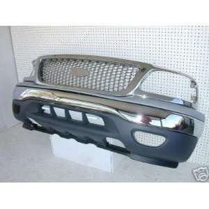 99 03 Ford F150/F250/Expedition Front Bumper, Valance, Top