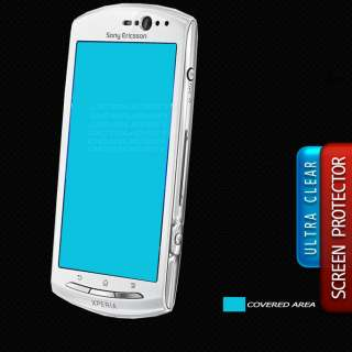 CLEAR Anti Scratch Resistant Screen Protector for Sony Ericsson