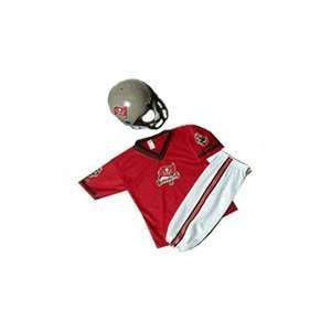 Tampa Bay Buccaneers Youth NFL Team Helmet and Uniform Set by Franklin