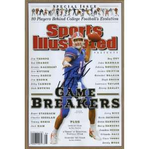 Illustrated Autograph Poster   2008 Game Breakers