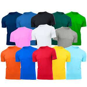 FRUIT OF THE LOOM VALUEWEIGHT COTTON T SHIRTS TSHIRT