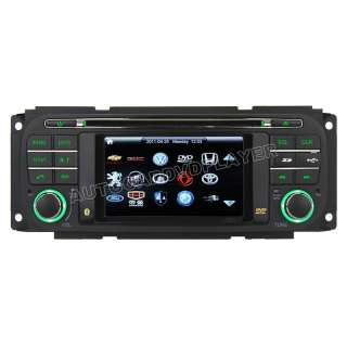 1999 2004 Jeep Grand Cherokee Dodge Chrysler DVD Player with in dash