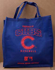 Chicago Cubs Large Gift Bag Reusable Shopping Tote Bag