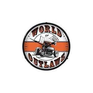 World of Outlaws Lighted Clock   Review
