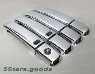 07 10 NISSAN ALTIMA CHROME DOOR HANDLE COVER TRIPLE KIT