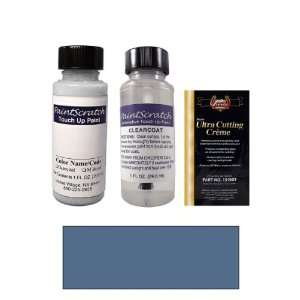 Oz. Ocean Blue Metallic Paint Bottle Kit for 1988 Porsche All Models