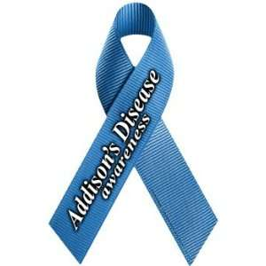 Addisons Disease Awareness Ribbon Magnet Automotive