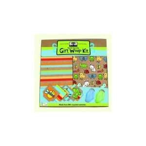 Innovative Kids Green Start Gift Wrap Kits, Backyard Babies