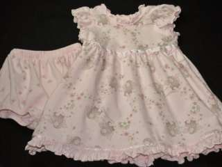 Anne Geddes Baby Girls Pink Fairy Dress 6 9 Mos RARE