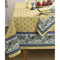 Mimi Gold/Blue 70 x70 Square Table Cloth