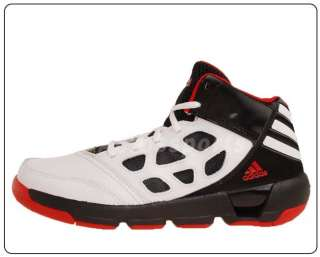 Adidas Dunkfest 2 J White Black Red New 2012 Youth Kids Basketball