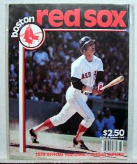1979 Boston Red Sox Baseball Yearbook  2nd Edition