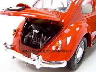 1967 VOLKSWAGEN VW BEETLE 118 DIECAST CAR MODEL RED