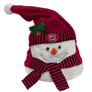 NCAA South Carolina Gamecocks Animated Musical Christmas Snowman Hat
