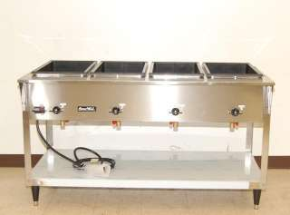 Vollrath ServeWell 4 Bay Electric Steam Table NEW 38204