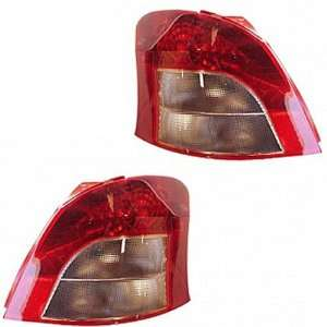 06 07 08 Toyota Yaris Hatchback Taillight Taillamp Set